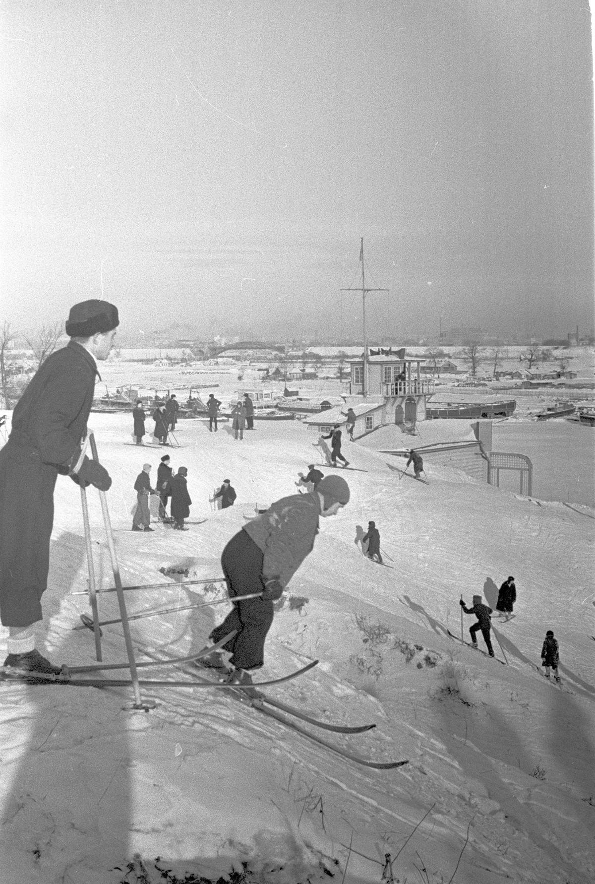 冬、モスクワ、1941年