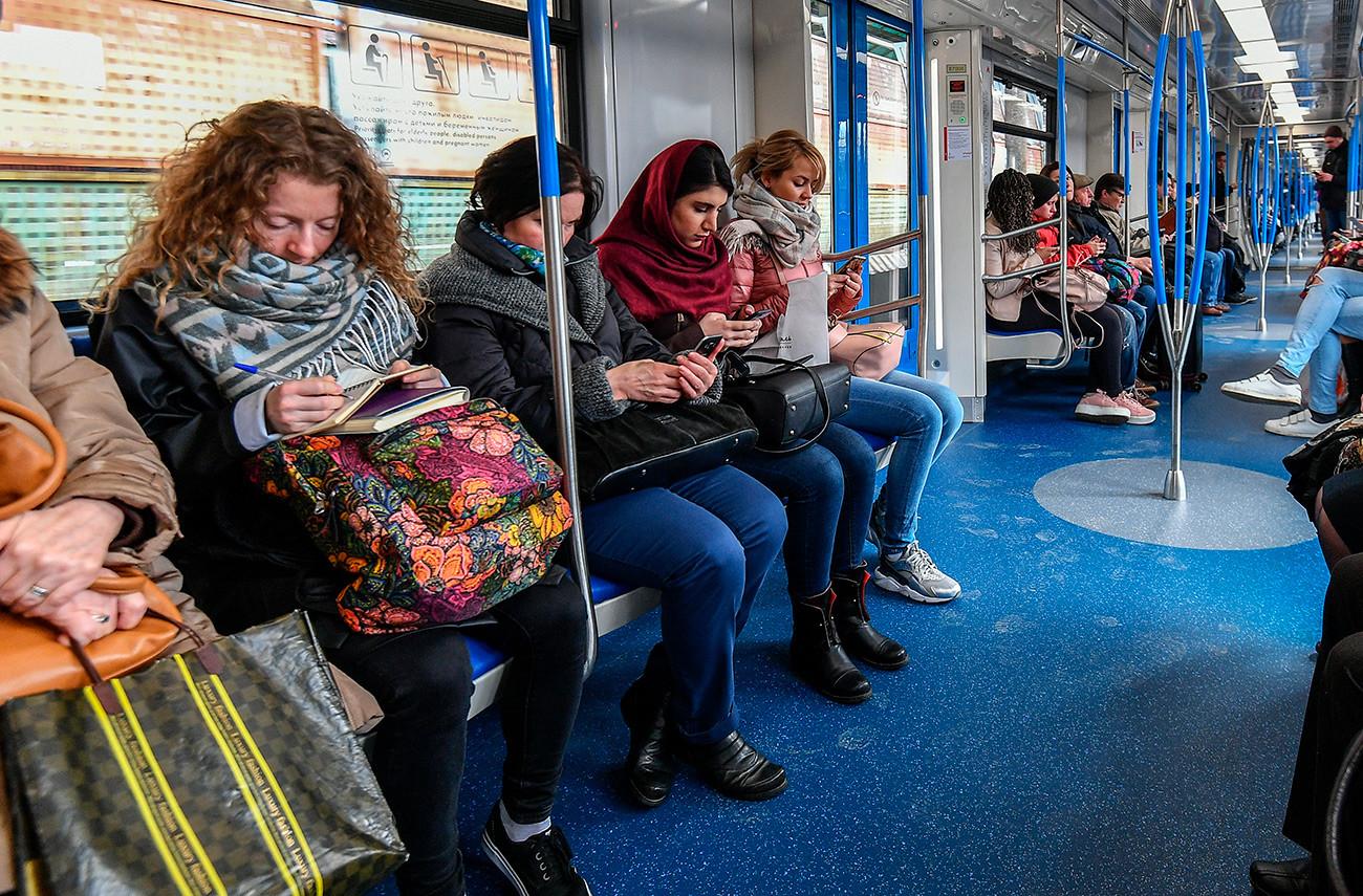 Žene u Moskovskom metrou