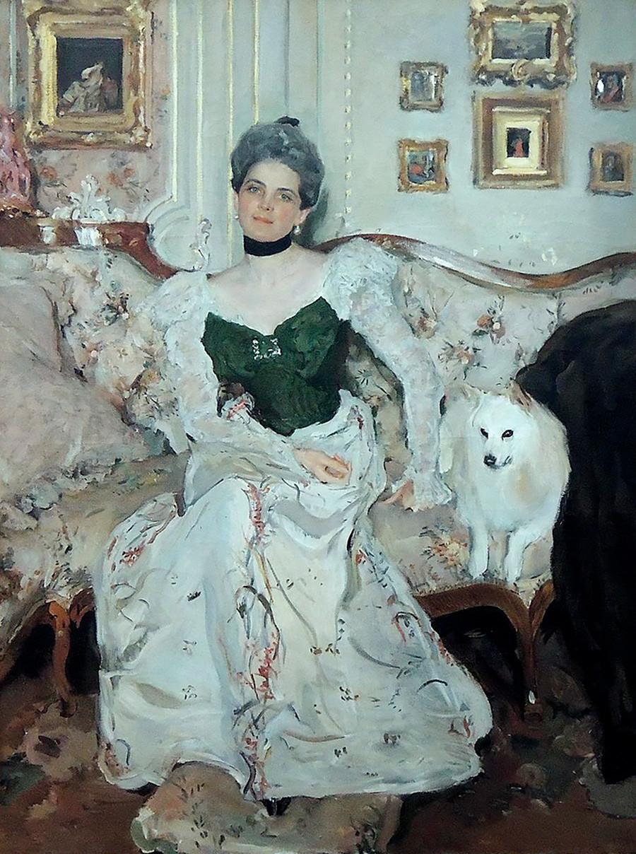 'Portrait of Princess Zinaida Yusupova'. Valentin Serov. 1902.