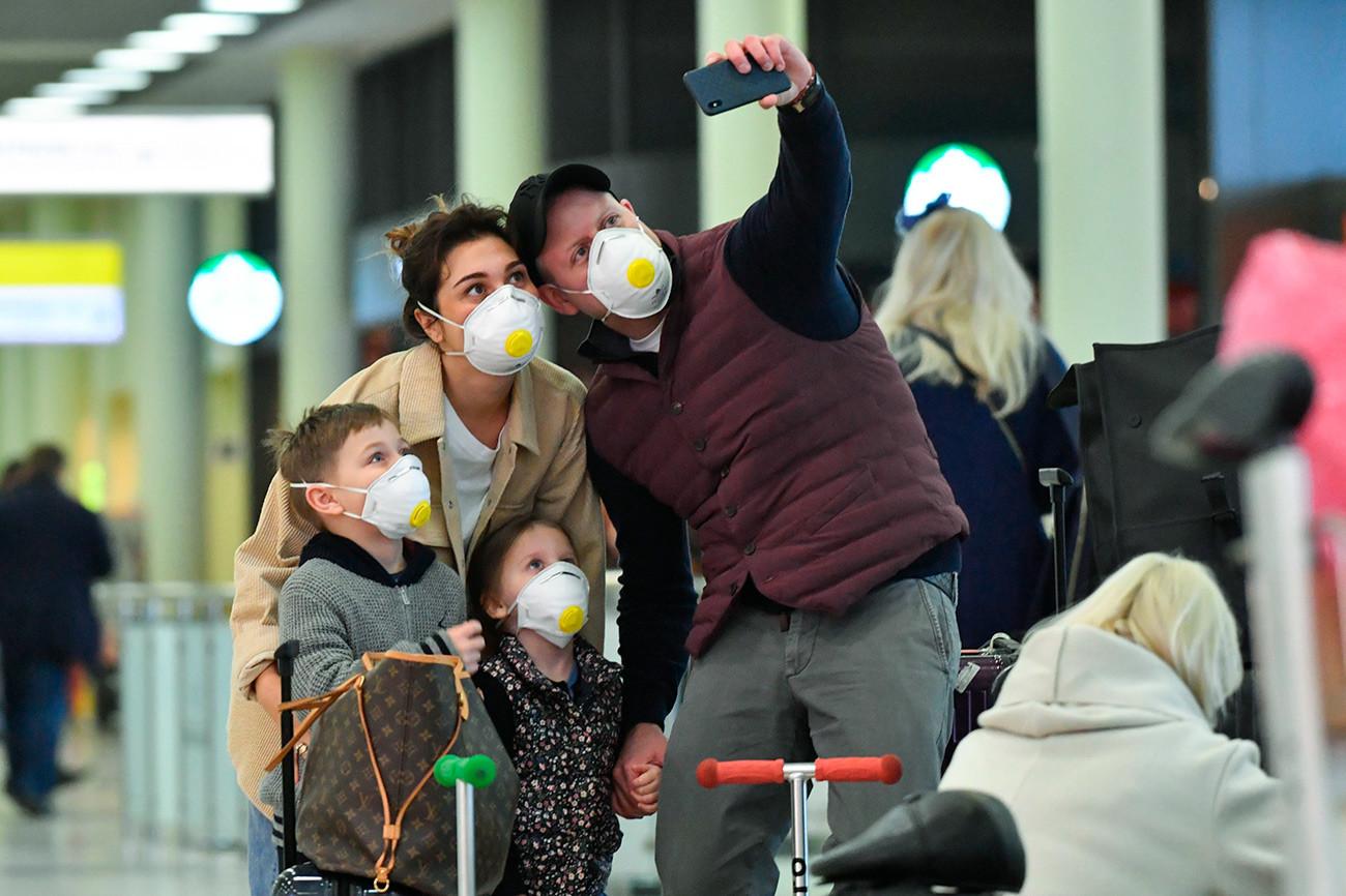 На аеродрому Шереметјево појачана је санитарна контрола због корона вируса.