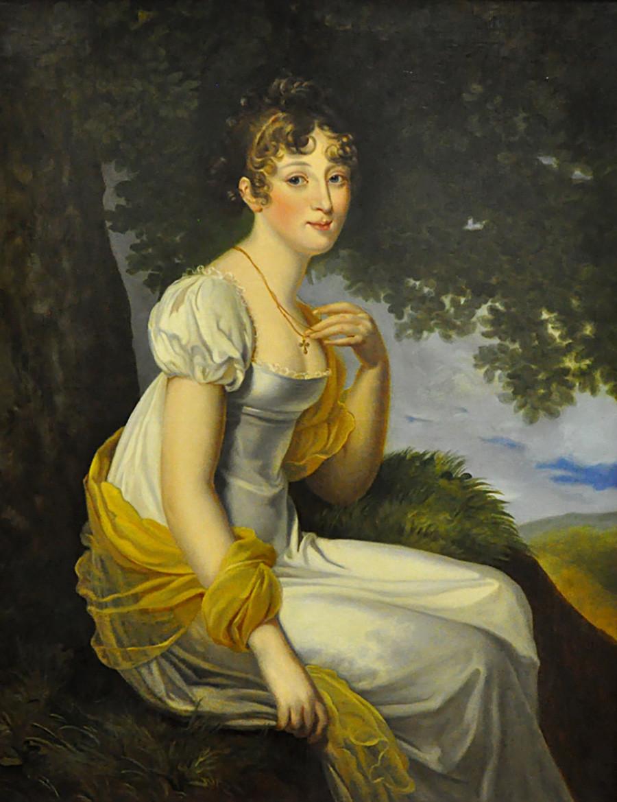 Великата руска кнегинка Ана Павловна околу 1813 година (копија на сликата на Валтер направена во 19 век).