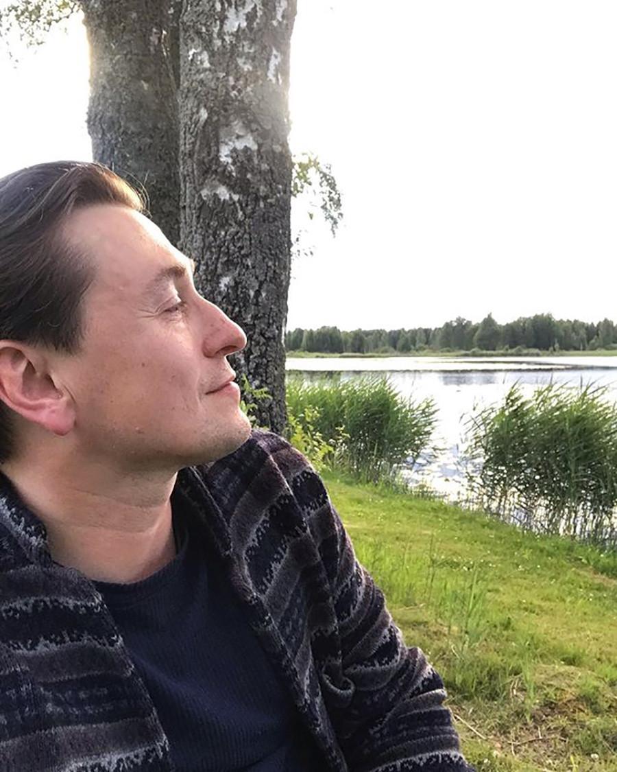Russian actor Sergei Bezrukov
