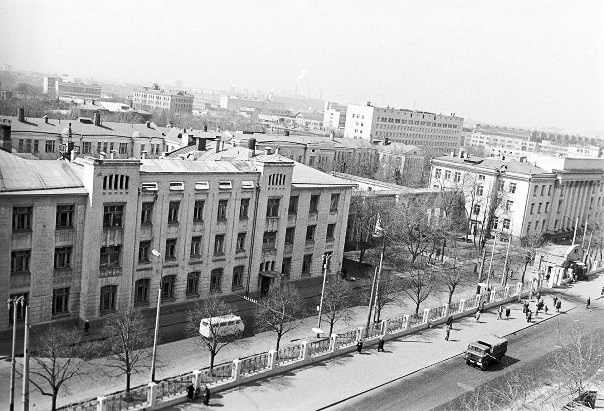 Здание Городской клинической больницы имени С. П. Боткина.