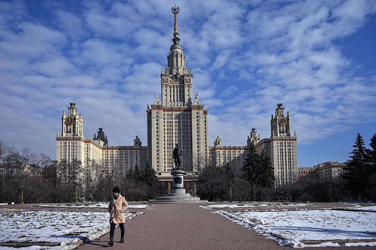モスクワ国立大学の本館