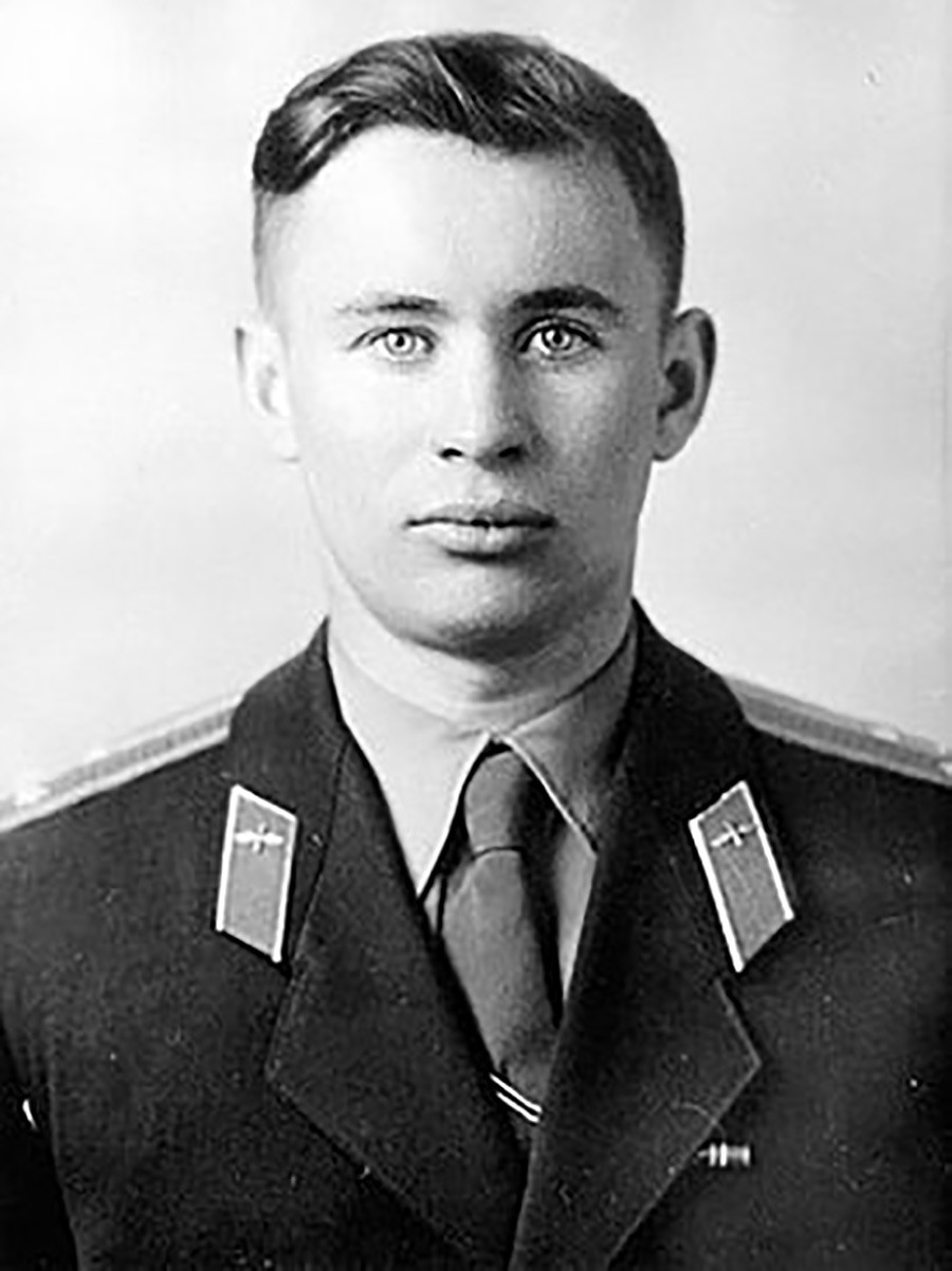 Valentin Bondarenko, a member of the Soviet cosmonaut squad.