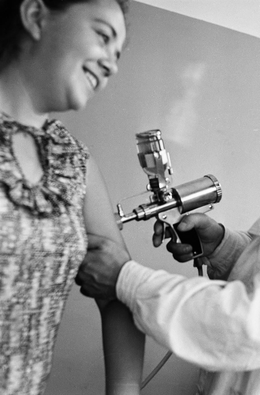 Cijepljenje, Moskva, SSSR, 1. rujna 1969.