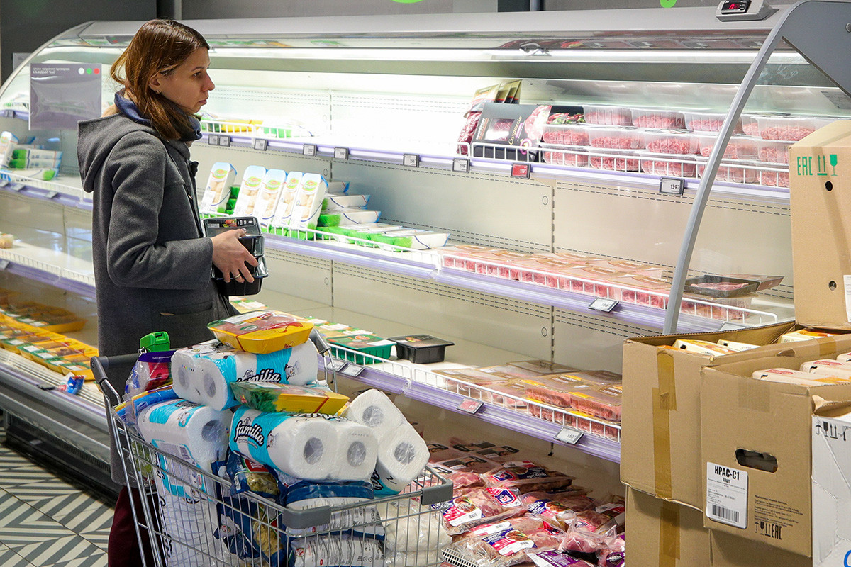In alcuni supermercati di Mosca si è registrata una