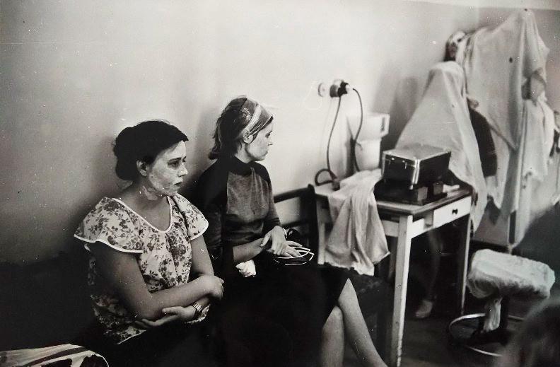 美容院の女性部門 1981年