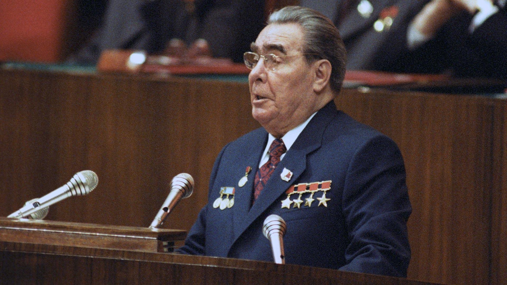 Leonid Brezhnev.
