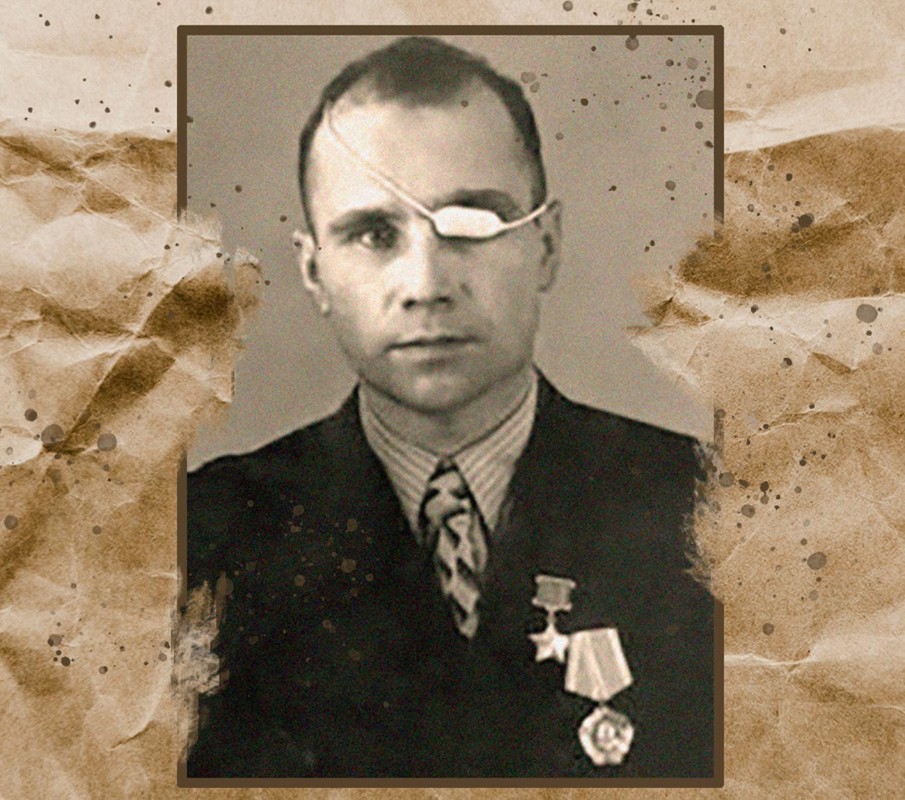 Sergeant Vasily Grigin was stripped of his Hero title because of malicious hooliganism, theft and inflicting grievous bodily harm.
