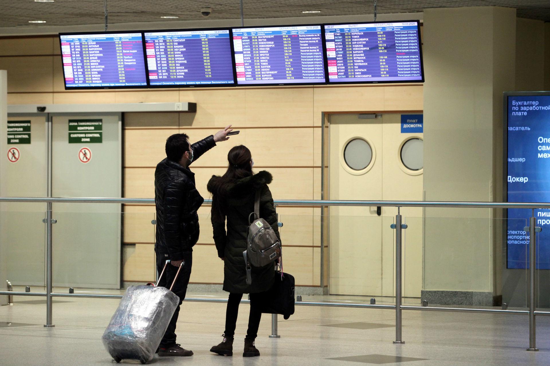 Aéroport Domodedovo de Moscou