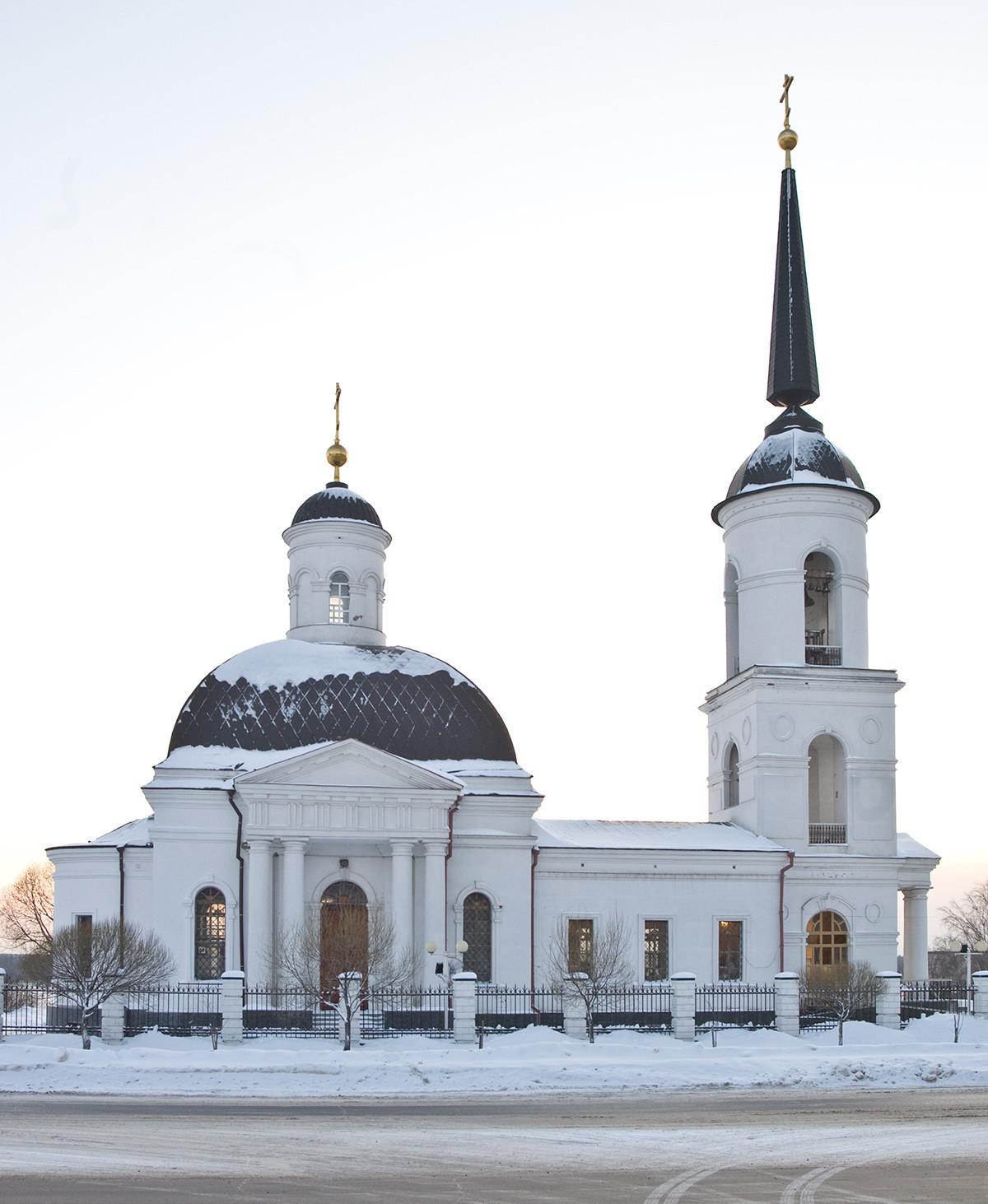 Iglesia de la Natividad de Cristo. Vista norte. 2 de enero de 2010