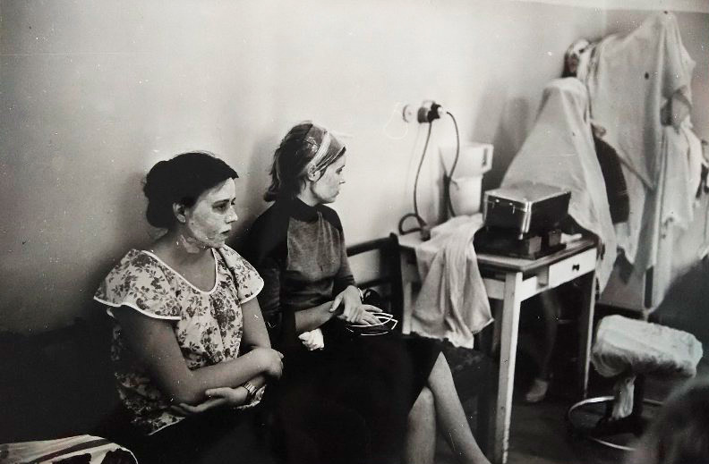 Salon de coiffure, salle pour femmes, 1981