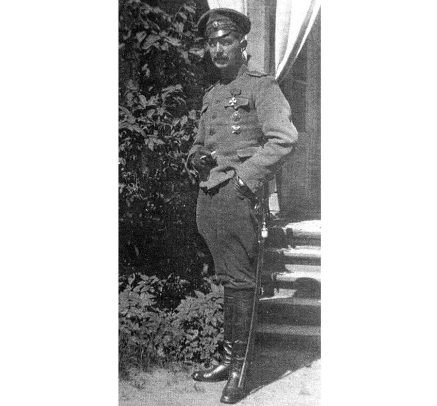 Поручник Леонид Пуњин.