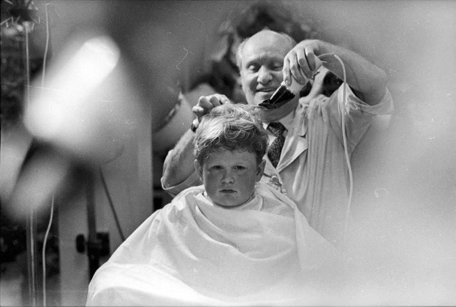 Un barbero de Moscú, 1960