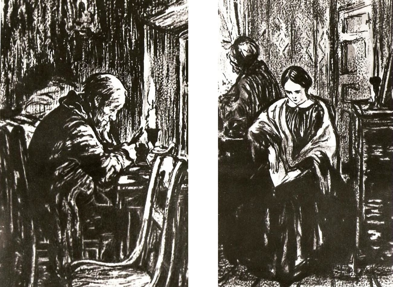 Illustration for 'Poor Folk' by Fyodor Dostoyevsky