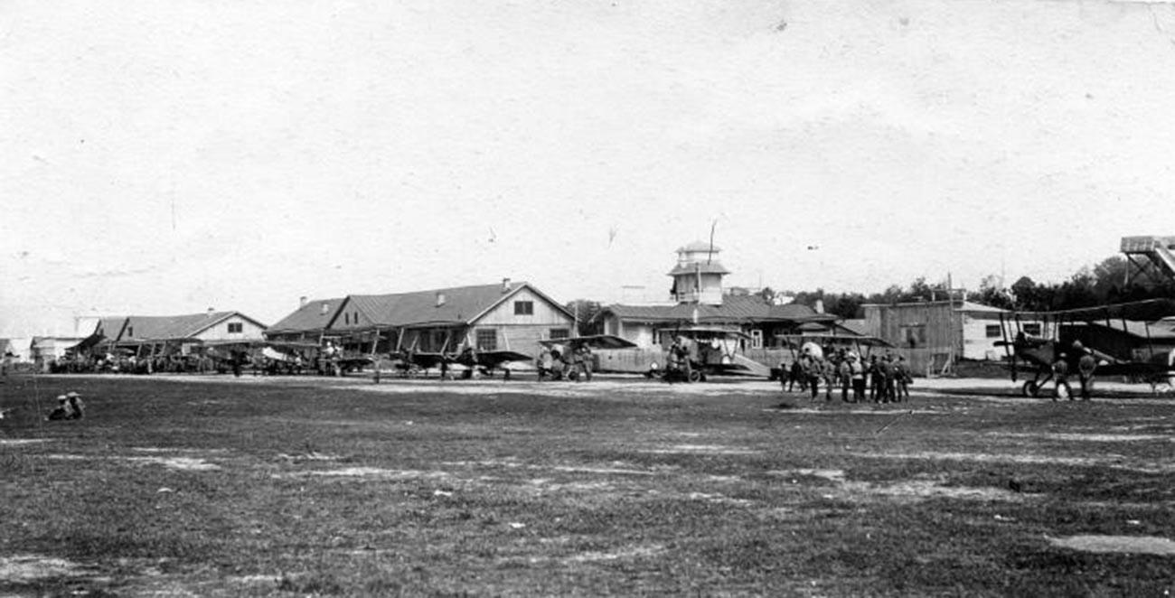 モスクワ航空週間、1916年
