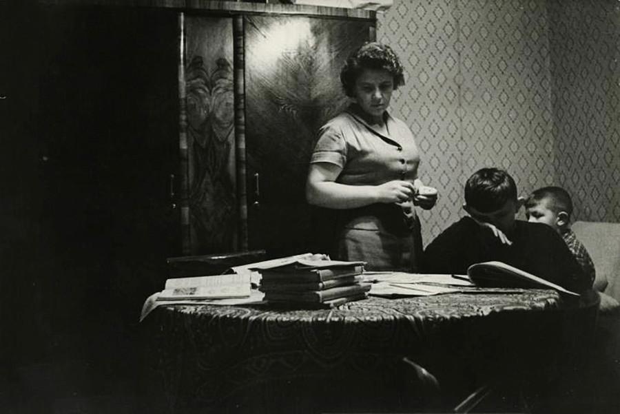 Doing homework, 1960 - 1965
