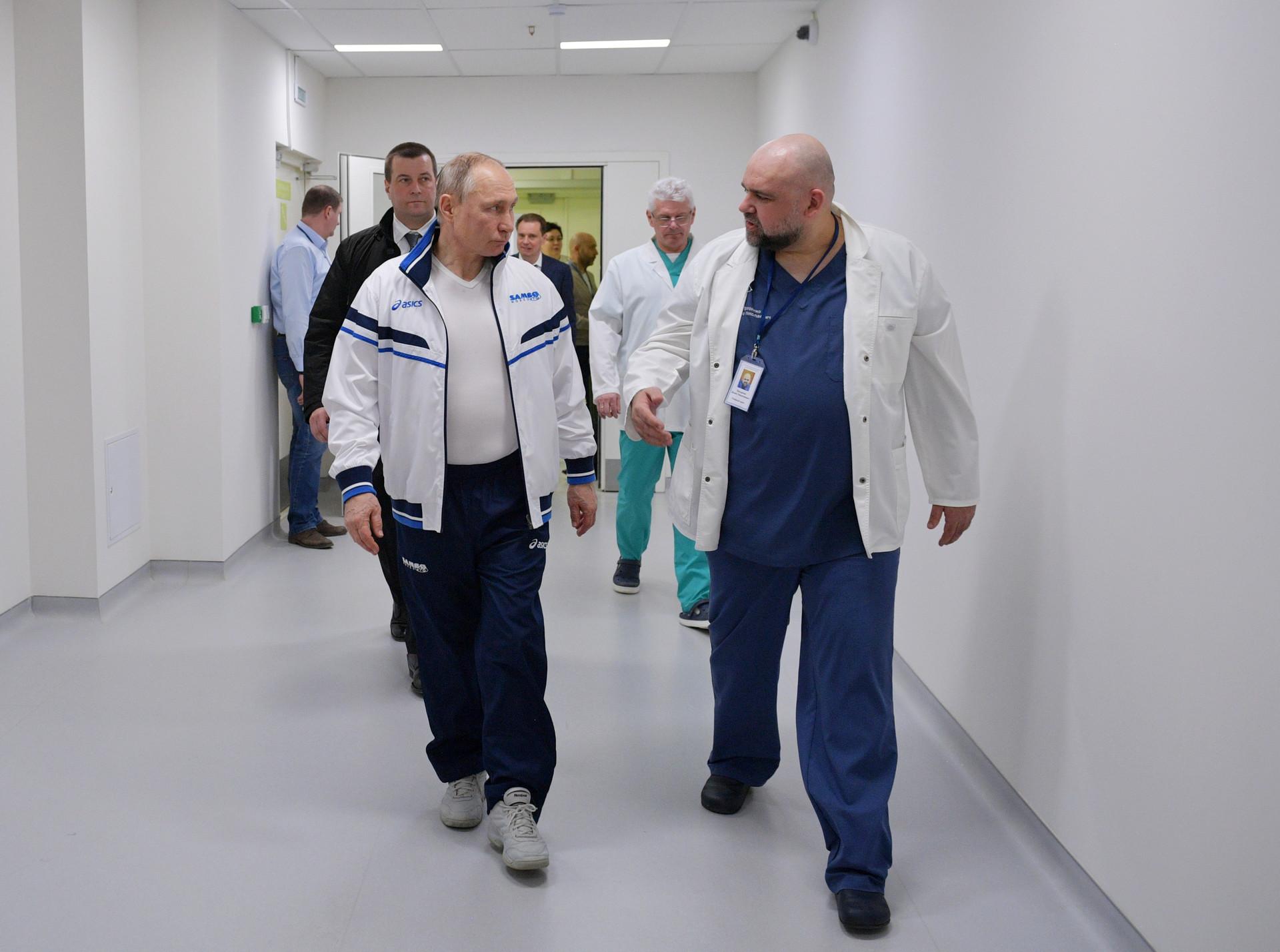 プーチン大統領とデニス・プロツェンコ氏