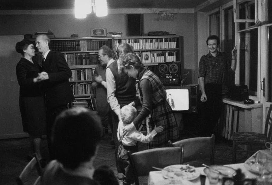家族のお祝い、1969~1974年