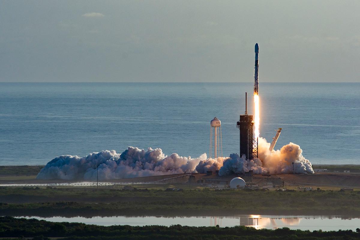 Falcon 9 lansira Starlink u orbitu, 18. ožujka 2020.