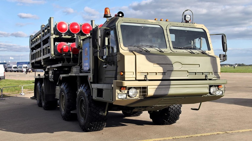 Sistema de defensa de misiles S-350 Vitiaz