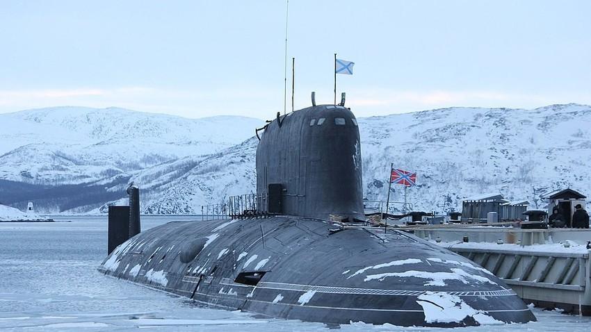 Submarino nuclear multipropósito K-560 Severodvinsk.