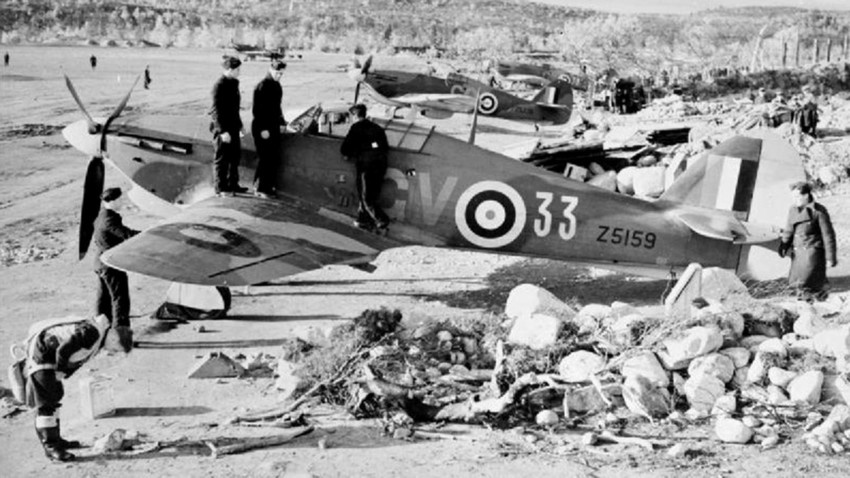 Hawker Hurricane v bližini Murmanska