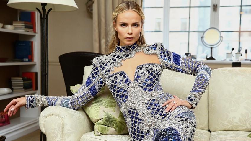 La modella russa Natasha Poli
