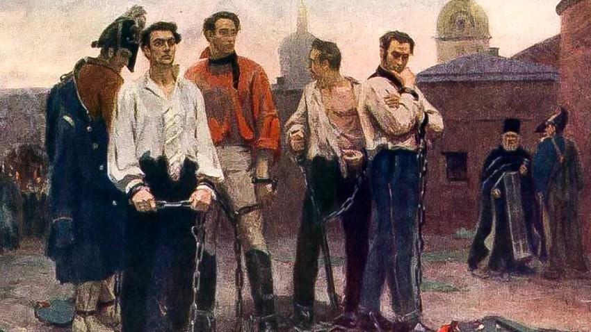 Usmrtitev dekabristov
