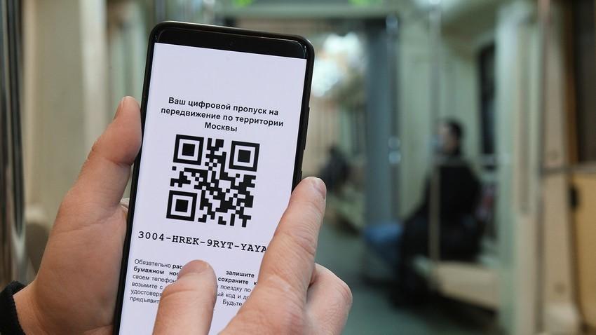 Digitalna prepustnica za vožnjo po Moskvi