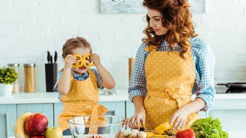 Готовить с детьми - это восторг!