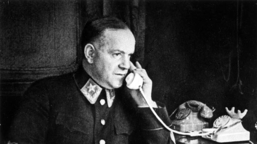 Maršal Georgij Žukov med drugo svetovno vojno v Sovjetski zvezi