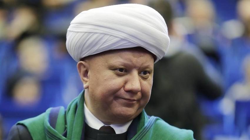 Ketua Majelis Spiritual Muslim Rusia, Mufti Moskow Albir Krganov.