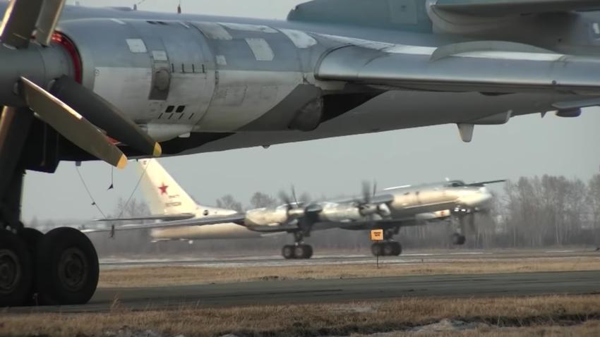 Снимка на екрана, Youtube, Министерство на отбраната на Русия