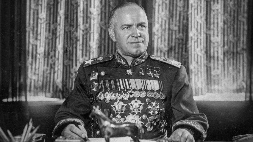 Georgij Žukov, maršal Sovjetskog Saveza.