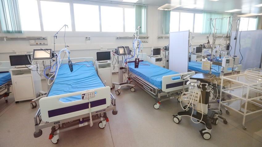 Novo hospital para pacientes com covid-19 nos arredores de Moscou