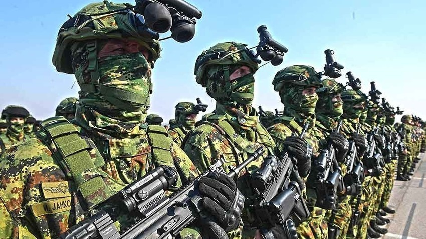 Припадници Специјалне бригаде ВС
