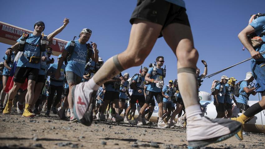 Maraton gurun MDS ke-35 ditunda hingga 18 September 2020 gara-gara pandemi virus corona.