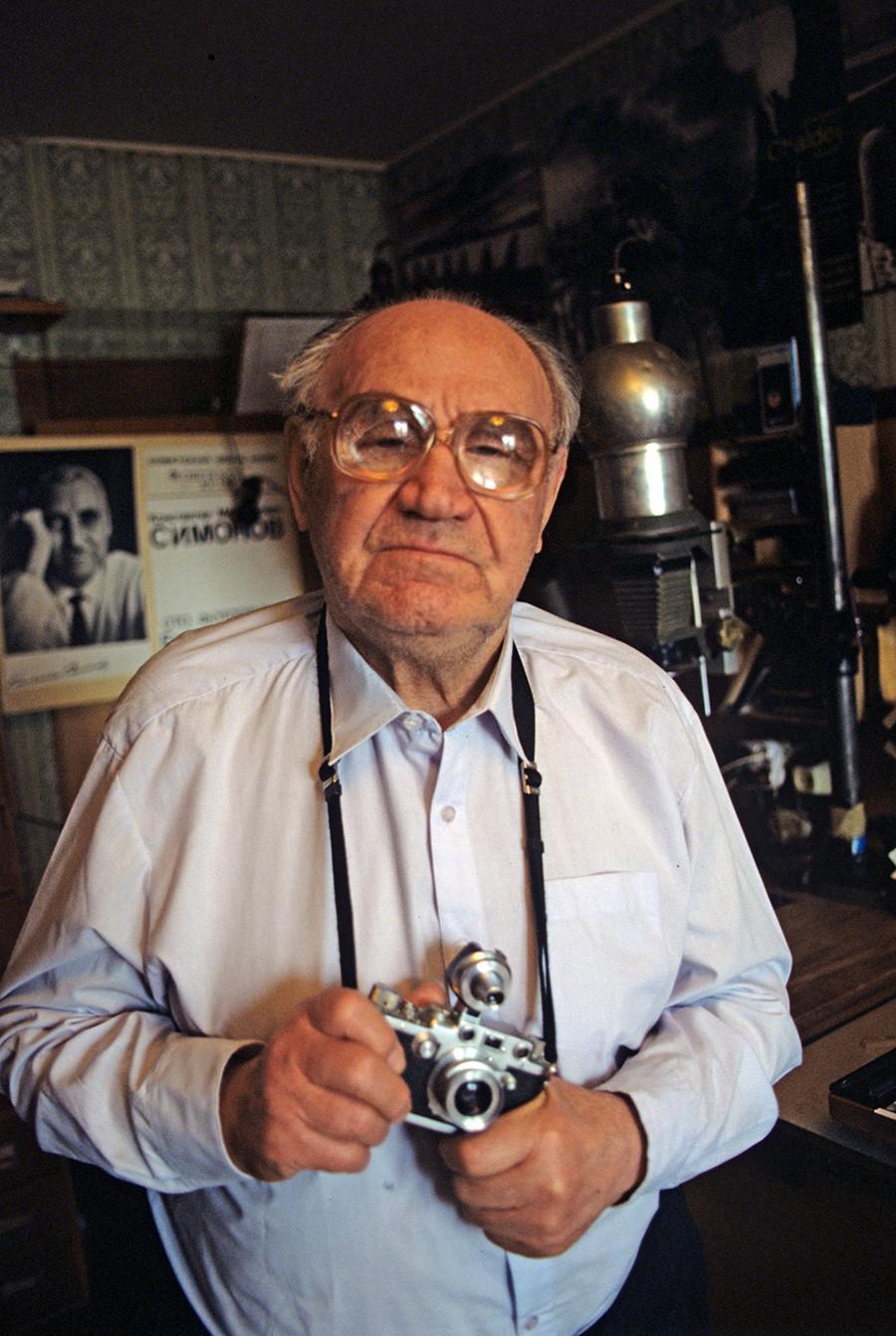 Evgueni Khaldeï en 1997