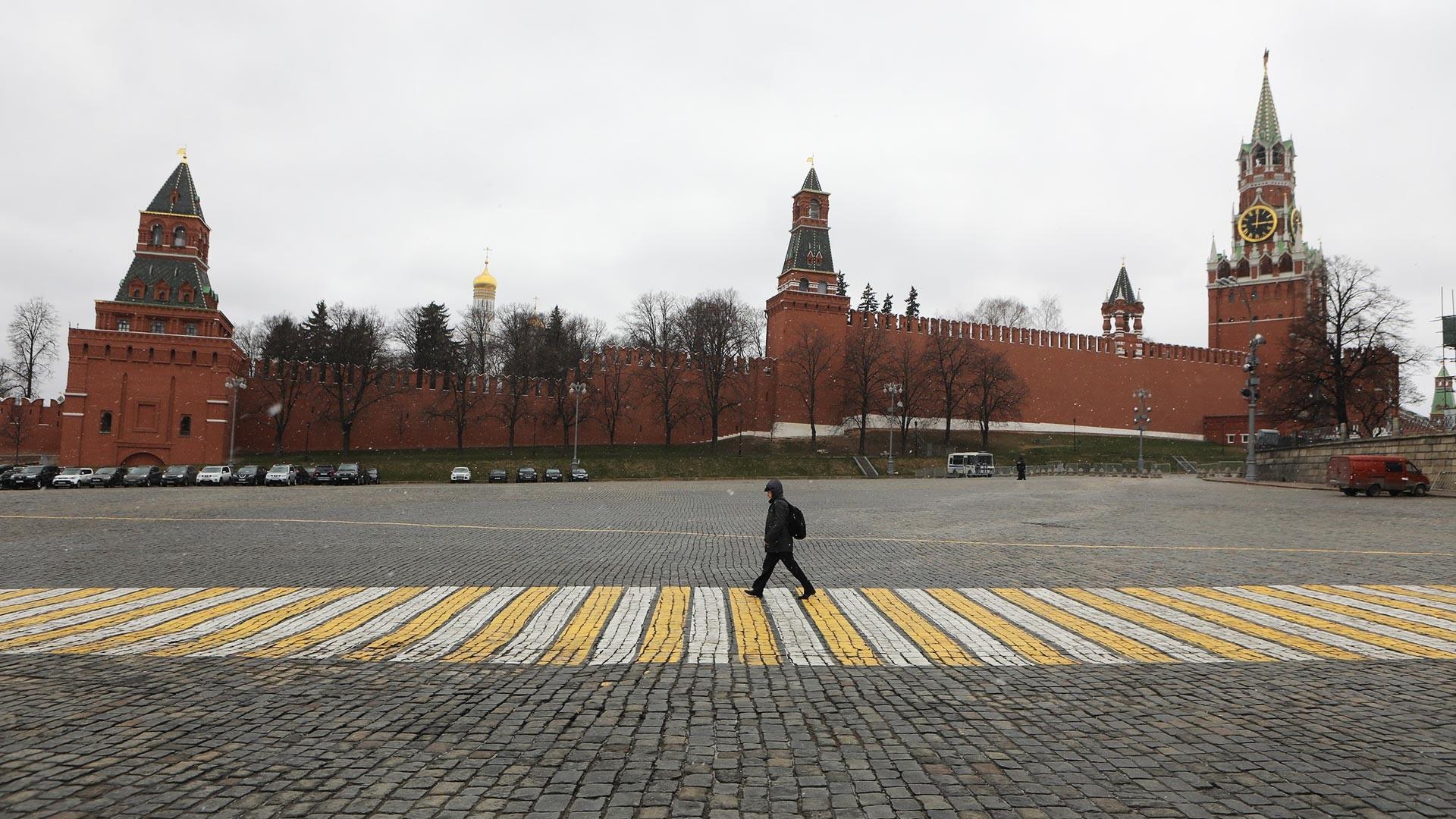 Moscou le 30 mars