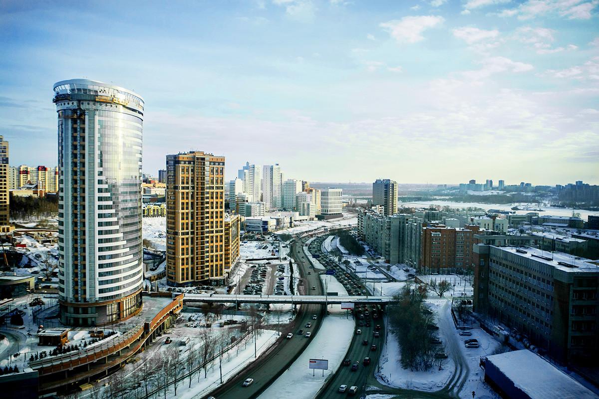 ノヴォシビルスクの風景