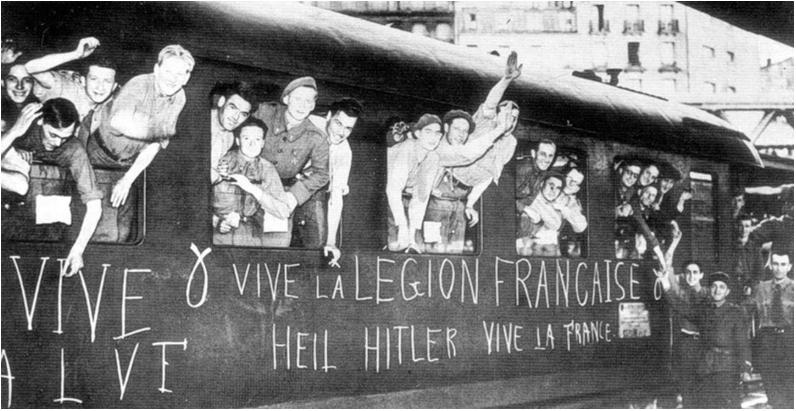 Francoski prostovoljci, september 1941