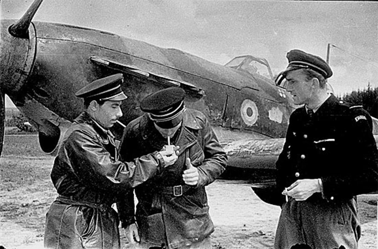 Piloti polka Normandija-Neman na vzhodni fronti