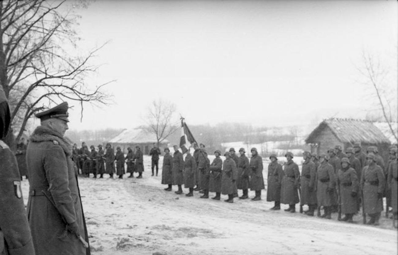 Soldats de la Légion des volontaires français en URSS