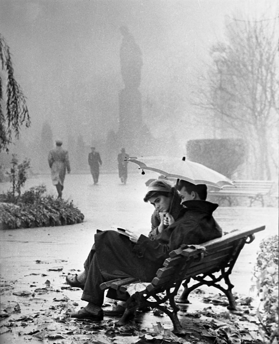 Der späte Herbst, 1961
