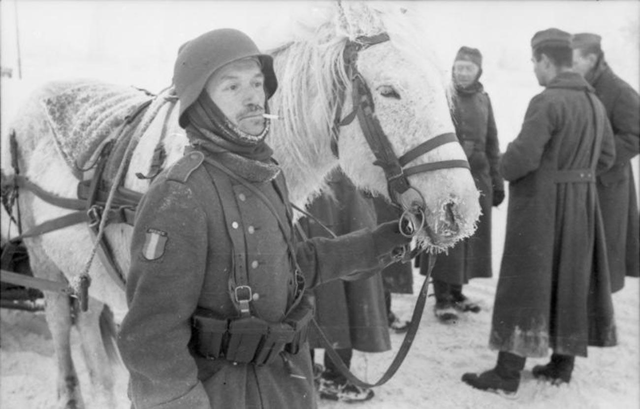 Vojnik Francuske legije u Rusiji