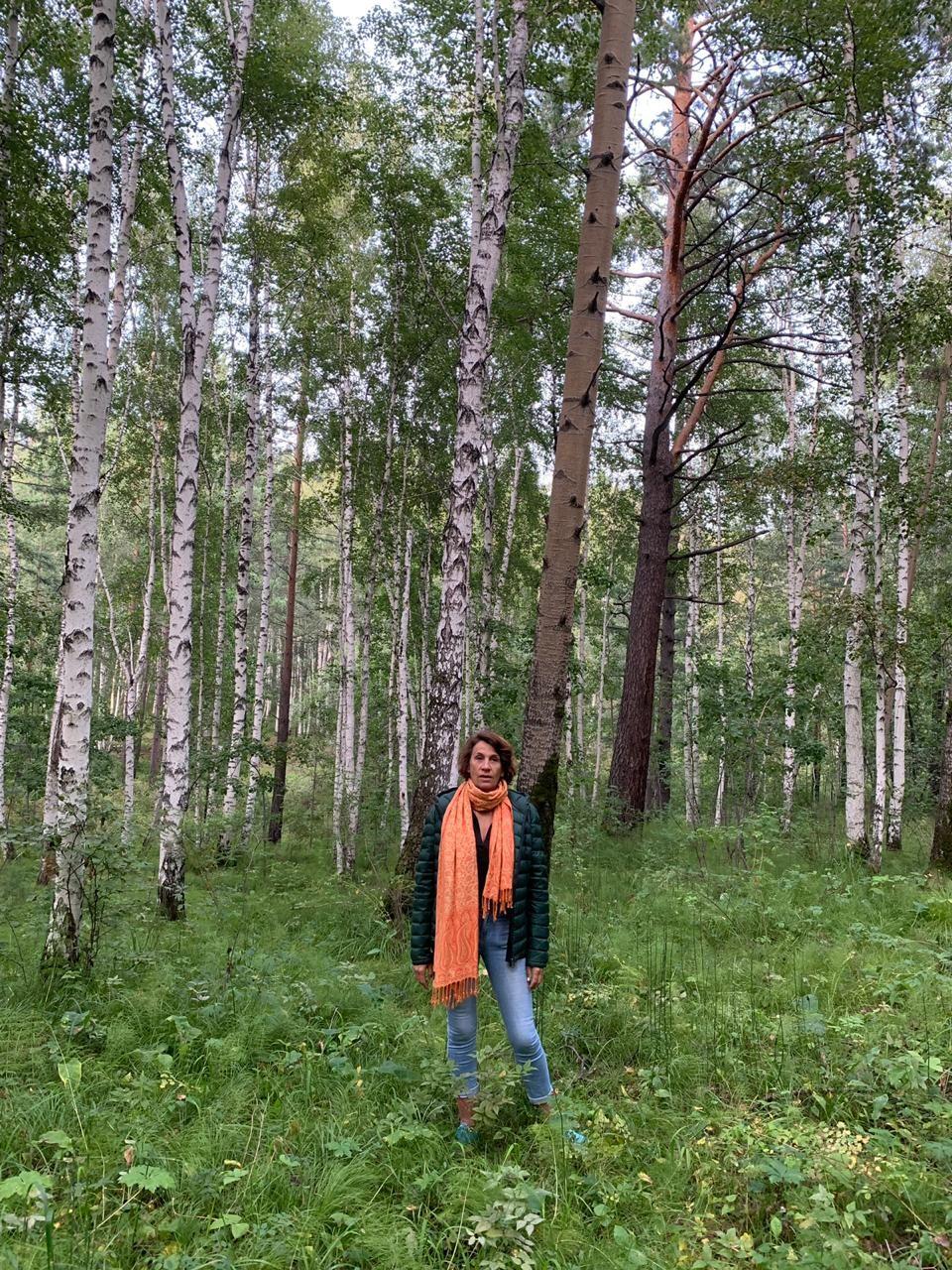 Laure dans les forêts de la région d'Irkoutsk (Sibérie)