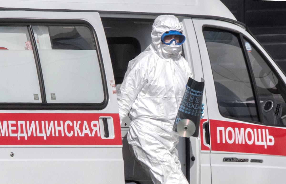 Prva pomoč v Moskvi