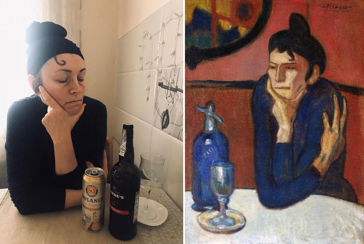 La buveuse d'absinthe, Pablo Picasso